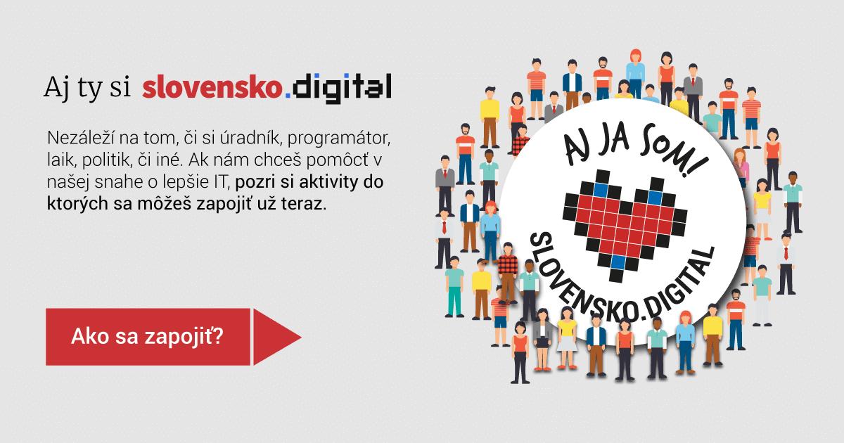5901ccda7 Občianske združenie zamerané na zvýšenie kvality digitálnych služieb štátu  na Slovensku